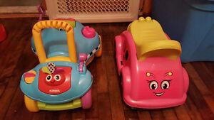 Deux voiturettes