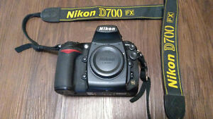 PRO DSLR CAMERA NIKON D 700 PLUS LENSES AND MORE
