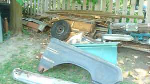 64 mercury bumpers and front fenders