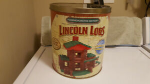 The Original Lincoln Logs - Commemorative Edition - Year 2000