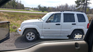 2003 Jeep Liberty Limited Edition - BEST OFFER TAKES IT