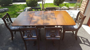 Antique dining set for sale - good condition
