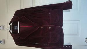 dark purple corduroy vest Regina Regina Area image 1