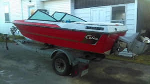 Boat with trailer for sale-MAKE ME AN OFFER-no lowballs