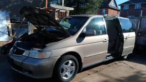 1999 Honda Odyssey EX Minivan, Van