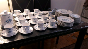 used porcelain dishes