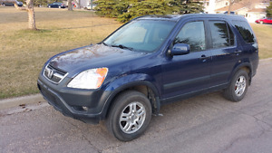 2004 Honda CR-V EX AWD with Hitch and Winter Tires