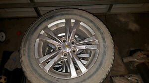 Chevy tire and rims 225/65R17 London Ontario image 1