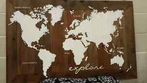 Hand painted maps NEW!