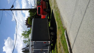 1994 Dodge Power Ram 2500 Pickup Truck and wells cargo trailer