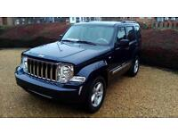"""SOLD"" LHD 2009 Jeep Cherokee 2.8 CRD DIESEL 4X4 Automatic LEFT HAND DRIVE"