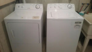 Moffat Full size Washer Dryer matched set
