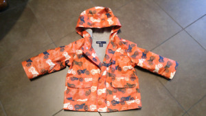 Toddler rain jacket