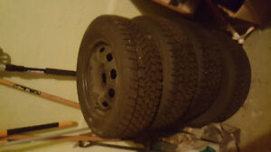 Arctic Claw Snow Tires and rims Stratford Kitchener Area image 2