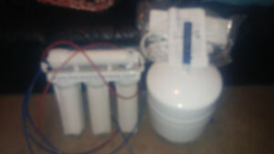 4 stage reverse osmosis home water filter