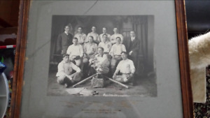 1906 Championship Baseball team photograph Nova Scotia Ramblers