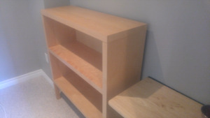 Ikea Wood book shelf for sale