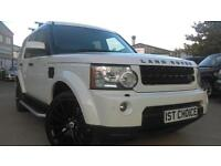 2010 LAND ROVER DISCOVERY 4 TDV6 XS WHAT A EYEFUL FITTED WITH GLOSS BLACK