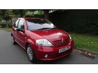 CITROEN C3 SX - AUTOMATIC 2005 Auto 33000 Petrol Red Petrol Automatic in Red
