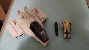 GI Joe 1984 SHARC Ship w/ DEEP SIX figure vintage  Hasbro