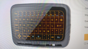 New Blue tooth remote keyboard with led lights $35