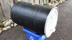 Plastic wine barrel Kitchener / Waterloo Kitchener Area image 1