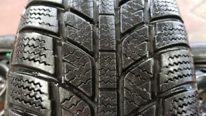 SNOW TIRES FOR HYUNDAI- 5 X 114.3 MM OR 4.5 INCHES. 195 /65/ 15.