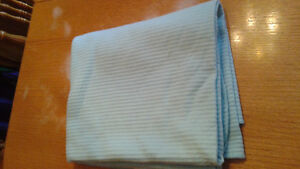 Knitted baby blanket and baby blue blanket Kingston Kingston Area image 5