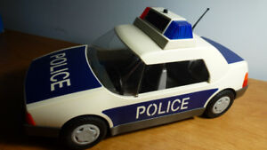 Voiture de police + accessoires - Playmobil 3904 - police car to