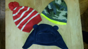 Gap Baby 12-24 months winter lined hats
