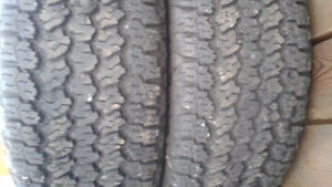 (2) LT285-60-20 Goodyear A/T Adventure with Kevlar