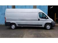 late 2013 Peugeot Boxer 2.2HDi 130 335 L3 H2,Metalic Silver,Only 66000 miles,car