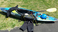 Dagger RPM White Water Kayak - complete package