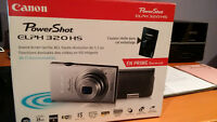 Canon PowerShot ELPH 320 HS brand new in box wifi