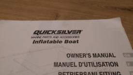 Quicksilver Rib Boat Manual