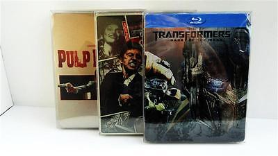 100 Box Protectors For STEELBOOKS    Clear Plastic  Cases / Covers Sleeves  G2
