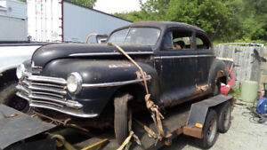 1948 Plymouth project or parts