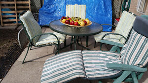 Patio set/ Dining Table /Folding Table/ Chairs and more