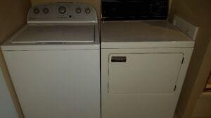 Électroménagers à vendre (laveuse/sécheuse)