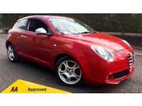 2014 Alfa Romeo MiTo 1.3 JTDM-2 85 Distinctive 3dr Manual Diesel Hatchback