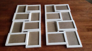 2 modern matching picture frames