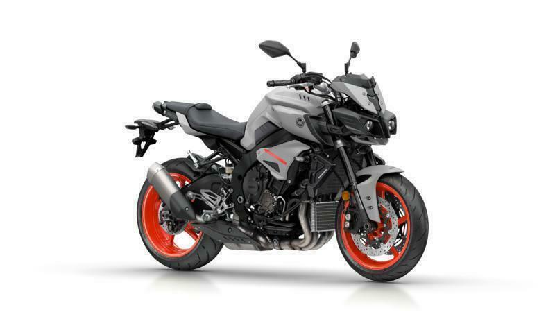 2019 Yamaha Mt 10 Naked Motorcycle In Matt Ice Fluo 998cc 4