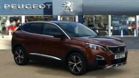 image for 2018 Peugeot 3008 1.5 BlueHDi GT Line 5dr EAT8 Diesel Estate Auto Estate Diesel