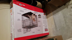 Ultra Strong Double Door Dog Crate - New / Never Used