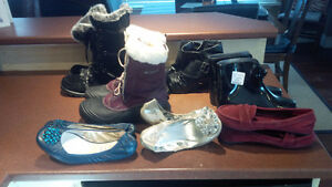 Boots & Shoes Columbia, Skechers... Nearly New! Some with tags