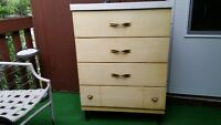 Very Nice Solid Wood 4 Drawer Dresser Forsale