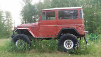 1974 Toyota Landcruiser FJ40 - Trade for quad or SxS