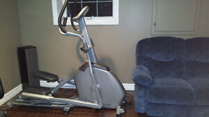 Vision fitness elliptical X20