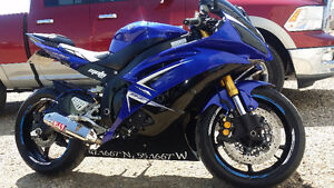 09 YAMAHA YZF R6 SHOWROOM CUSTOM  1600kms!!