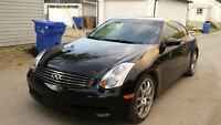 """2005 Infinit G35 coupe: 19"""" rims, Low KMs, 2 sets of tires."""